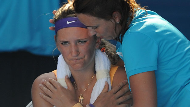 Azarenka's panic attack: Champ or cheat?
